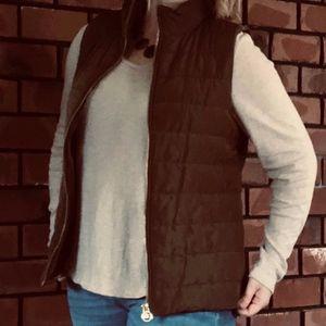 Michael Kors Olive Green Vest